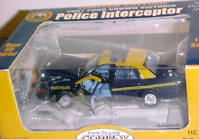 Gearbox West Virginia State Police car   2001 Ford Crown Victoria 143