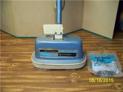 Vintage Regina 510 All Steel Carpet Shampooer Polisher