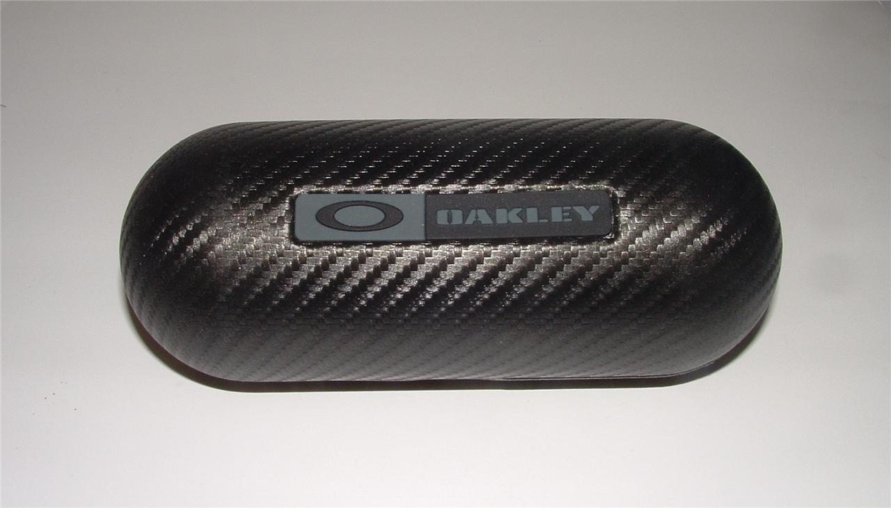 Brand New Oakley Large Carbon Fiber Sunglasses Case | eBay