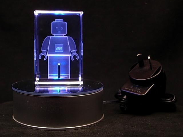 Lego Man 240v Plug In Boys Child Night Light Ebay