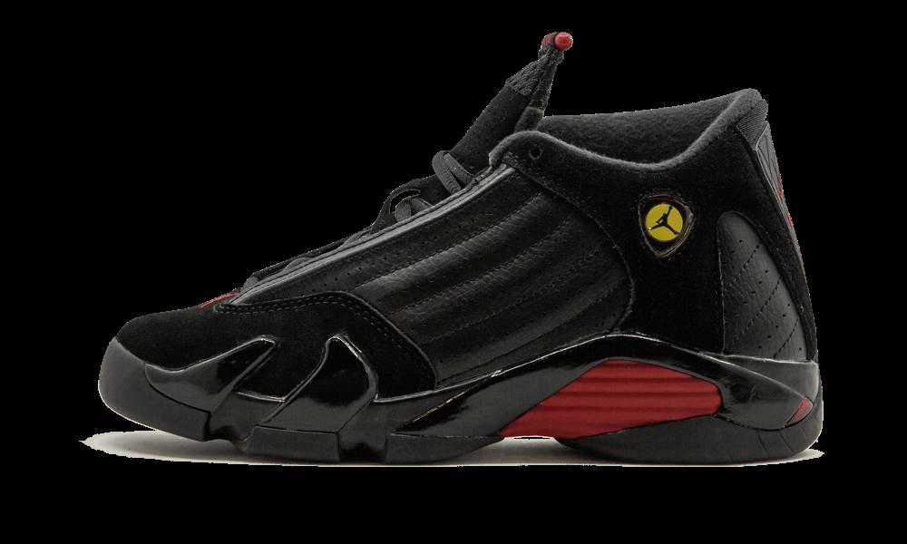 ef1605ab8ca Nike Air Jordan XIV 14 Last Shot GS 487524-003 US 4-6Y Black Varsity ...