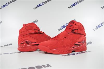 dc422632e858f2 Air Jordan VIII AJ 8 Retro Valentine s Day WMNS AQ2449-614 US 6.5 ...