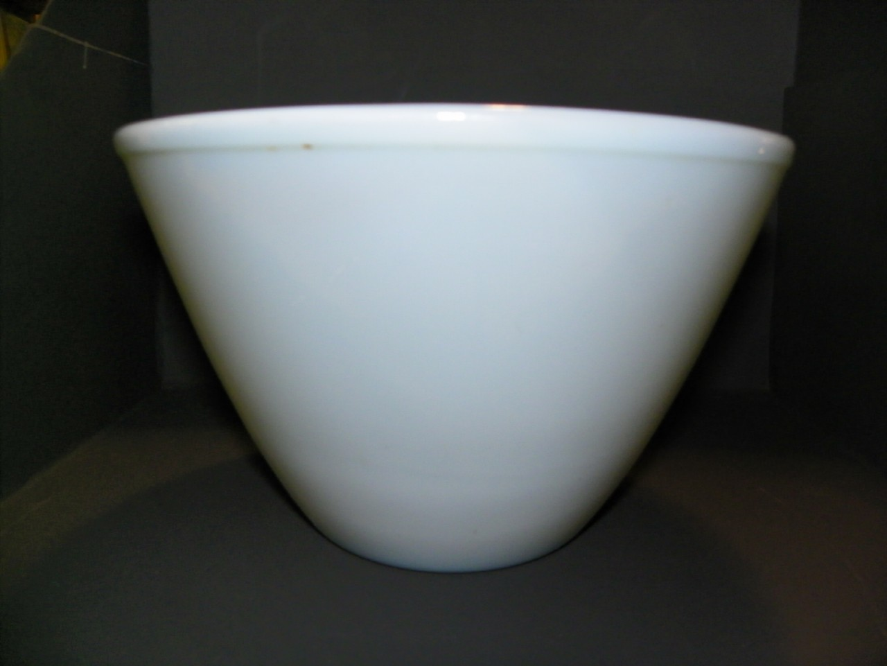 Vintage Fire King Mixing Batter Bowl Turquoise Blue 8.5