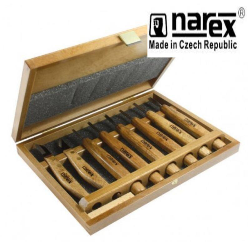 Narex professional pc carving set wood tool