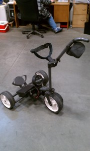 Used Dynamis Portable Remote Controlled Golf Cart on PopScreen