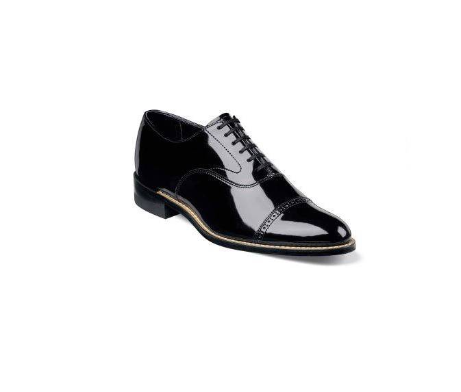 Stacy Adams Patent Leather Tuxedo Shoes