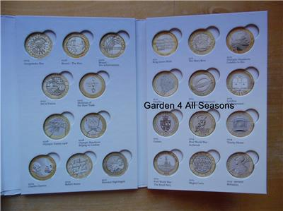 London 2012 Bright Royal Mint £2 Coin Album First Edition Common Wealth Games Completer Medallion Sports Memorabilia