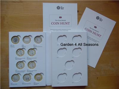 London 2012 Bright Royal Mint £2 Coin Album First Edition Common Wealth Games Completer Medallion Olympic Memorabilia
