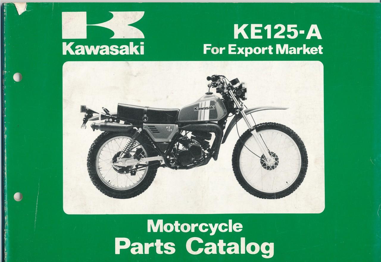 kawasaki parts motorcycle ke125