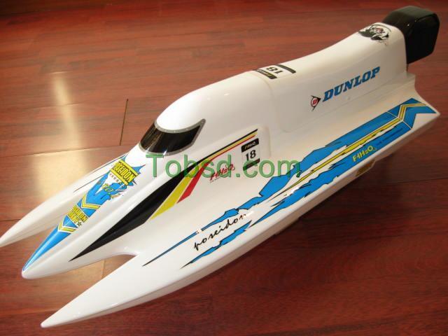 Fiberglass Tunnel F1 Brushless Motor Electric RC Speed Boat ARTR
