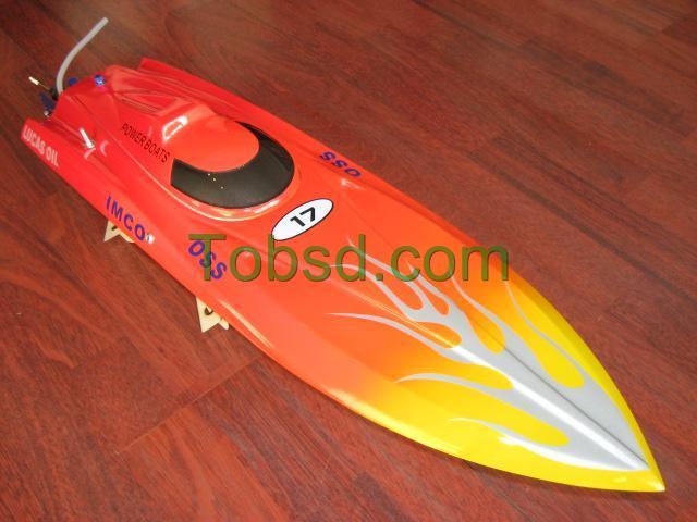 27 inch Blaze EP Fibreglass Mono1 ARTR Racing Boat