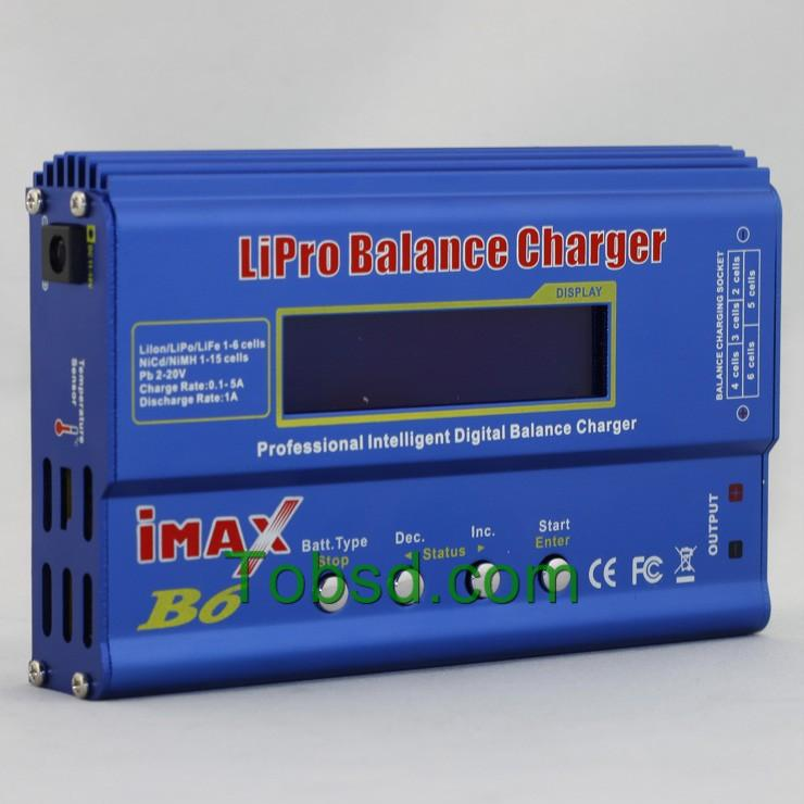 iMax B6  AC/DC Lipo Lion NiCd NiMh Battery Charger & Adapters