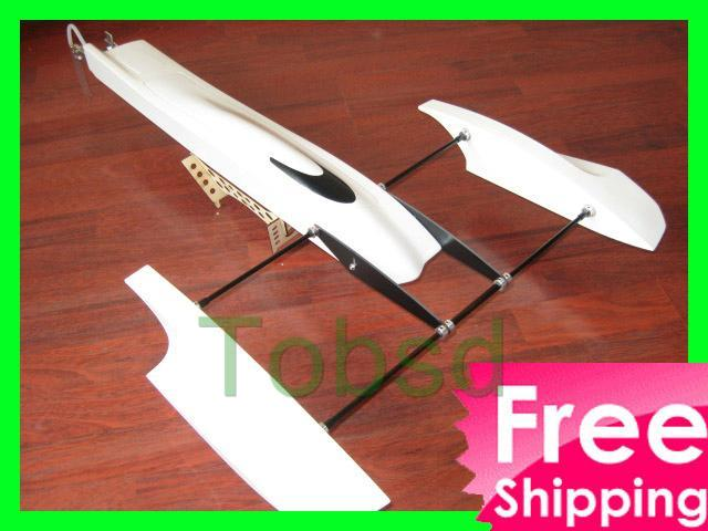 33 inch Poseidon FibreGlass Outrigger Rc Boat Hydroplane Kit Hydro Rigger