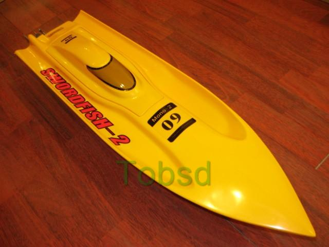 31 inches Thunder EP Fibreglass Mono 2 Kit Racing Boat