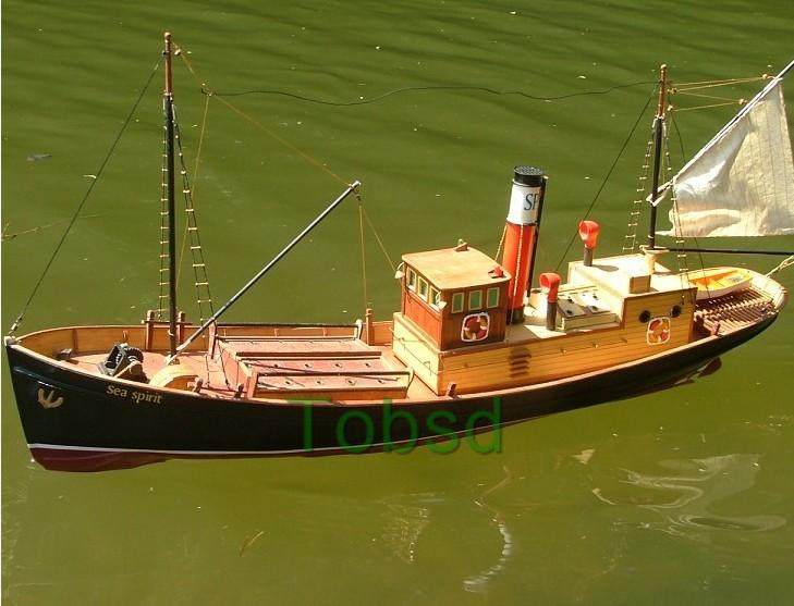 RC  Sea Spirit Steam Boat