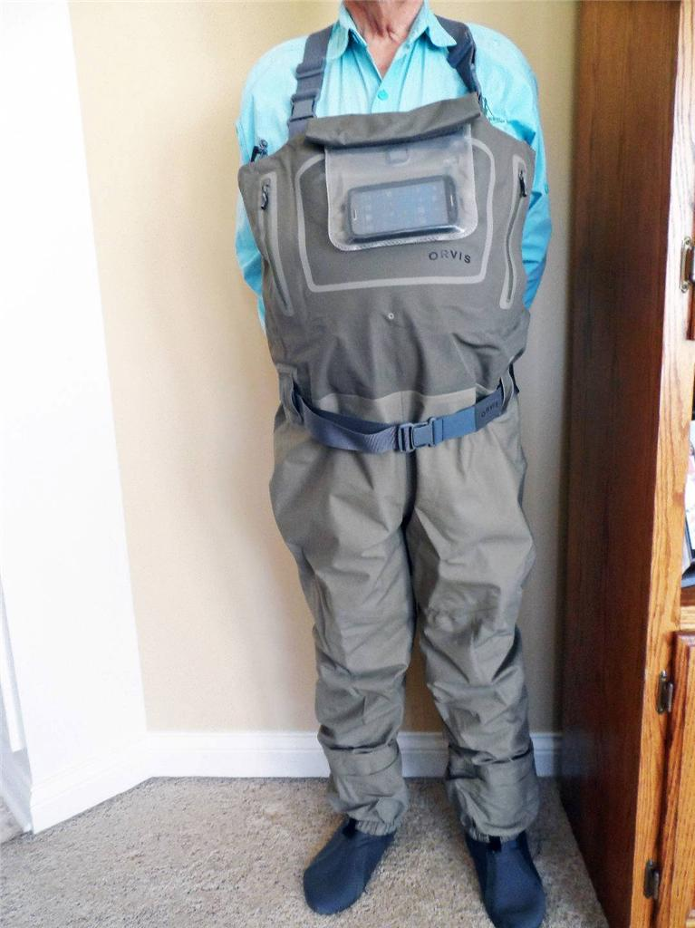 Orvis Silver Sonic Guide Stockingfoot Waders Flymasters