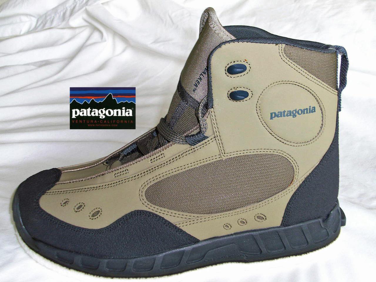 Patagonia Riverwalker Felt Sole Wading Shoes Boots Size 7 Flymasters Ebay