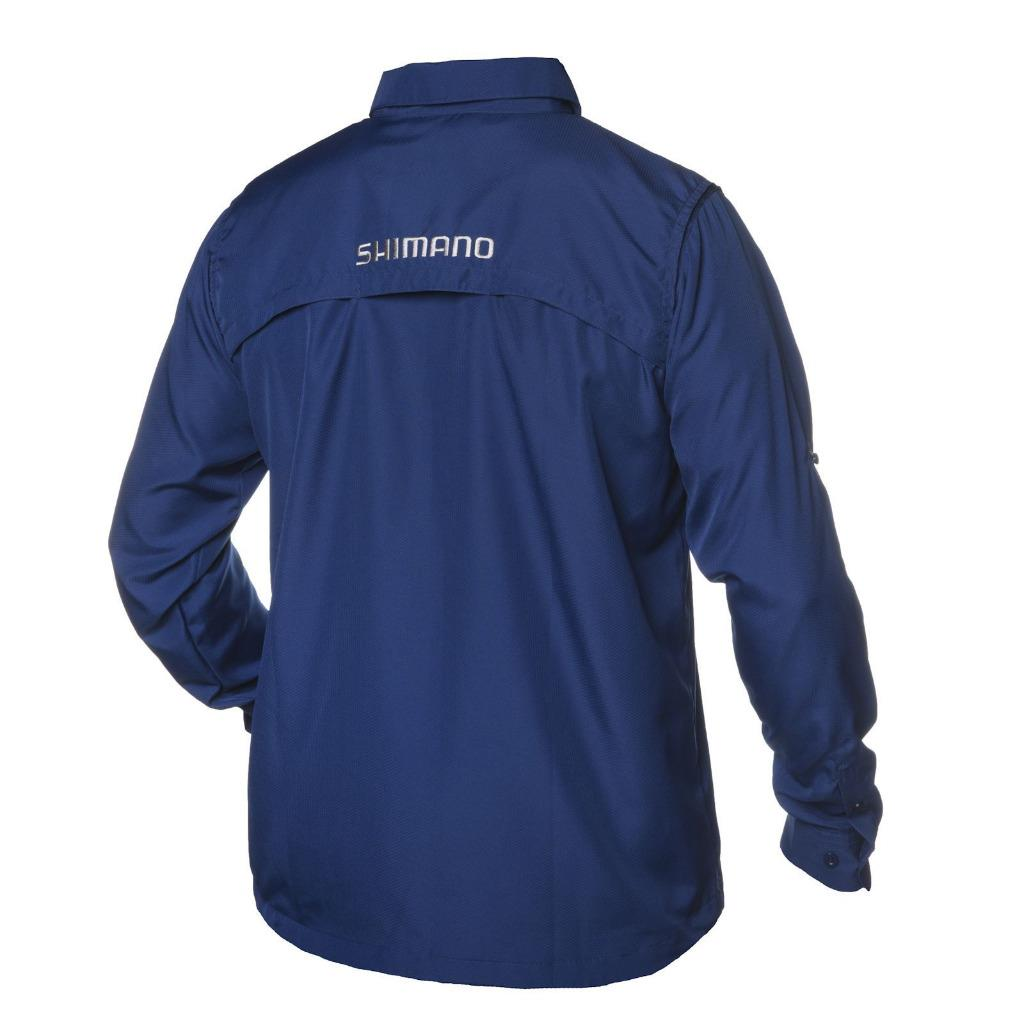 Shimano Volans Long Sleeve Vented Shirt Button Front