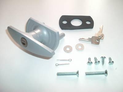 Henderson Garage Door Lock T Handle Parts 35mm Short Shaft