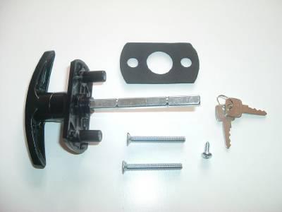 New Compton Wessex Wickes Apex T Handle Garage Door Lock