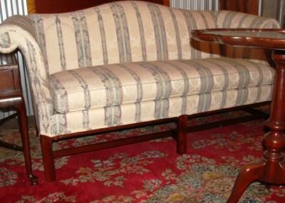 Hickory Chair Camelback Sofa Ebay