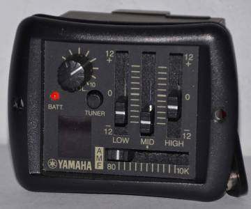 yamaha guitar apx 500 preamp battery box only replacement part ships from ohio ebay. Black Bedroom Furniture Sets. Home Design Ideas