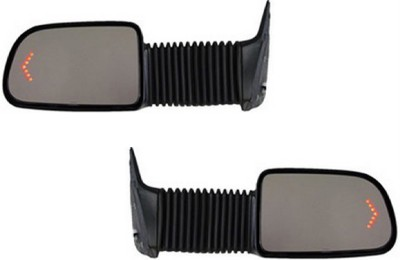 Power Extend Camper Tow Mirrors Pair W Signal Chevy Gmc