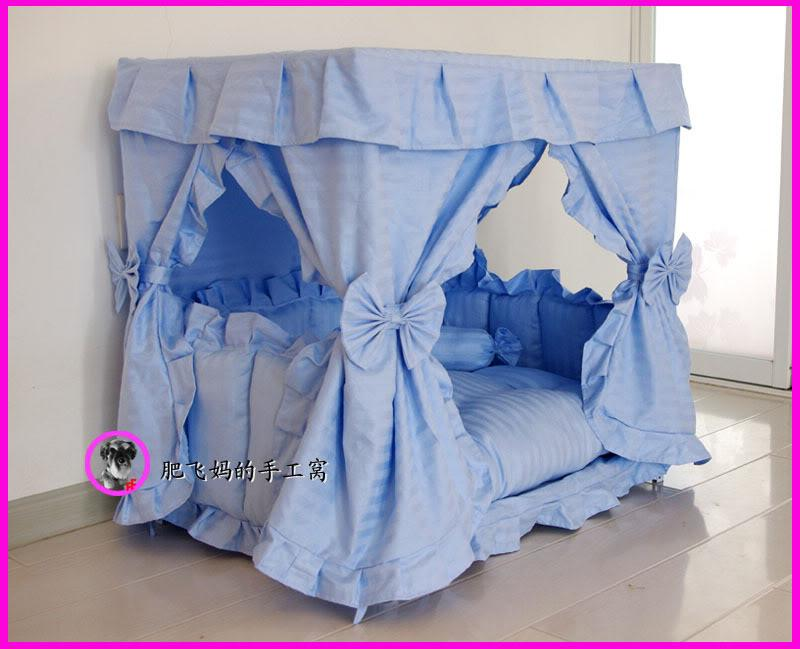 Gorgeous Handmade Princess Pet Dog Cat Bed House 1 Candy