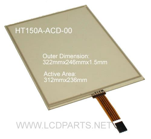 HT150A-ACD-00 New Replace Touchscreen