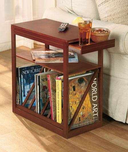 Deluxe Magazine Side Table