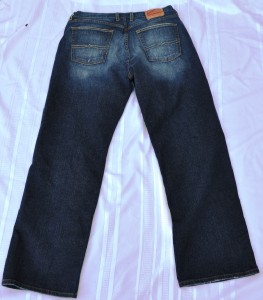 LUCKY BRAND Mens Dungarees Relaxed Boot Cut Blue Jeans, Size 36