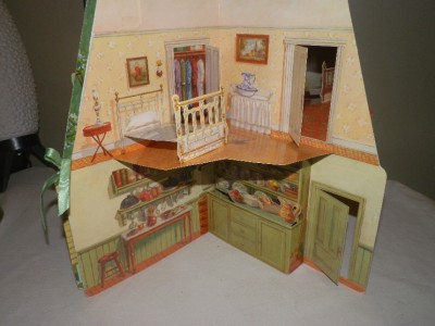 Vtg 1994 Anne Of Green Gables Pop Up Doll House Book With