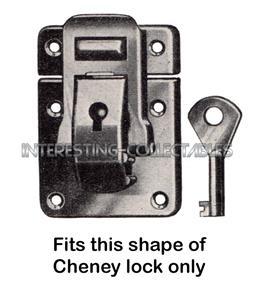 Sewing Machine Key for CHENEY Buckle Locks SINGER 99K 201K Original Case Key