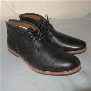 96160abcdab Details about Timberland Boot Company Wodehouse Chukka Black Shoes Vb24  Boots Size 10 $300