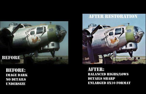 Sheridan/'s Express #2 8x10 Nose Art Photo 341st BG Ann USAAF WW2 B-25 Bomber