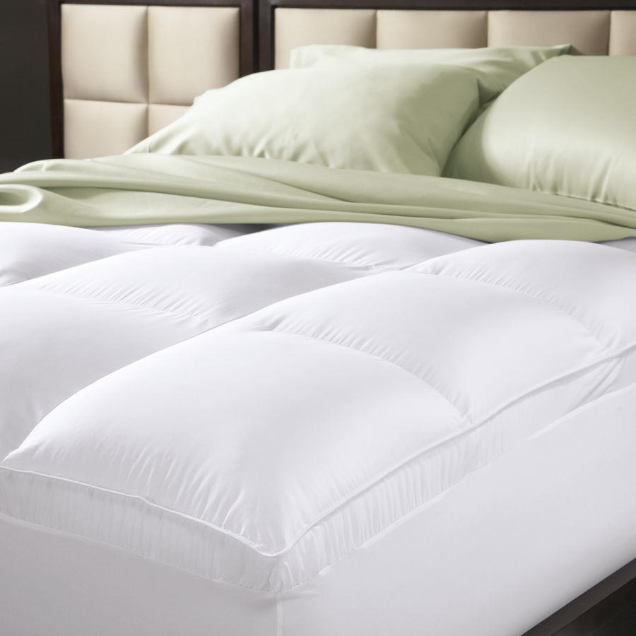 Luxury Brand New Pillowtop Mattress Protector Topper 5