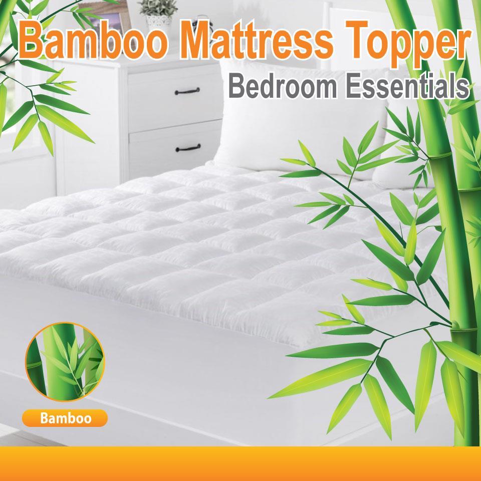 All Size 1000gsm Luxury Bamboo Ball Fibre Pillowtop