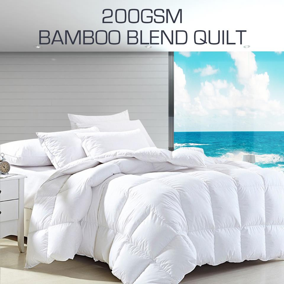Aus Made 200gsm Bamboo Blend Summer Weight Summer Weight