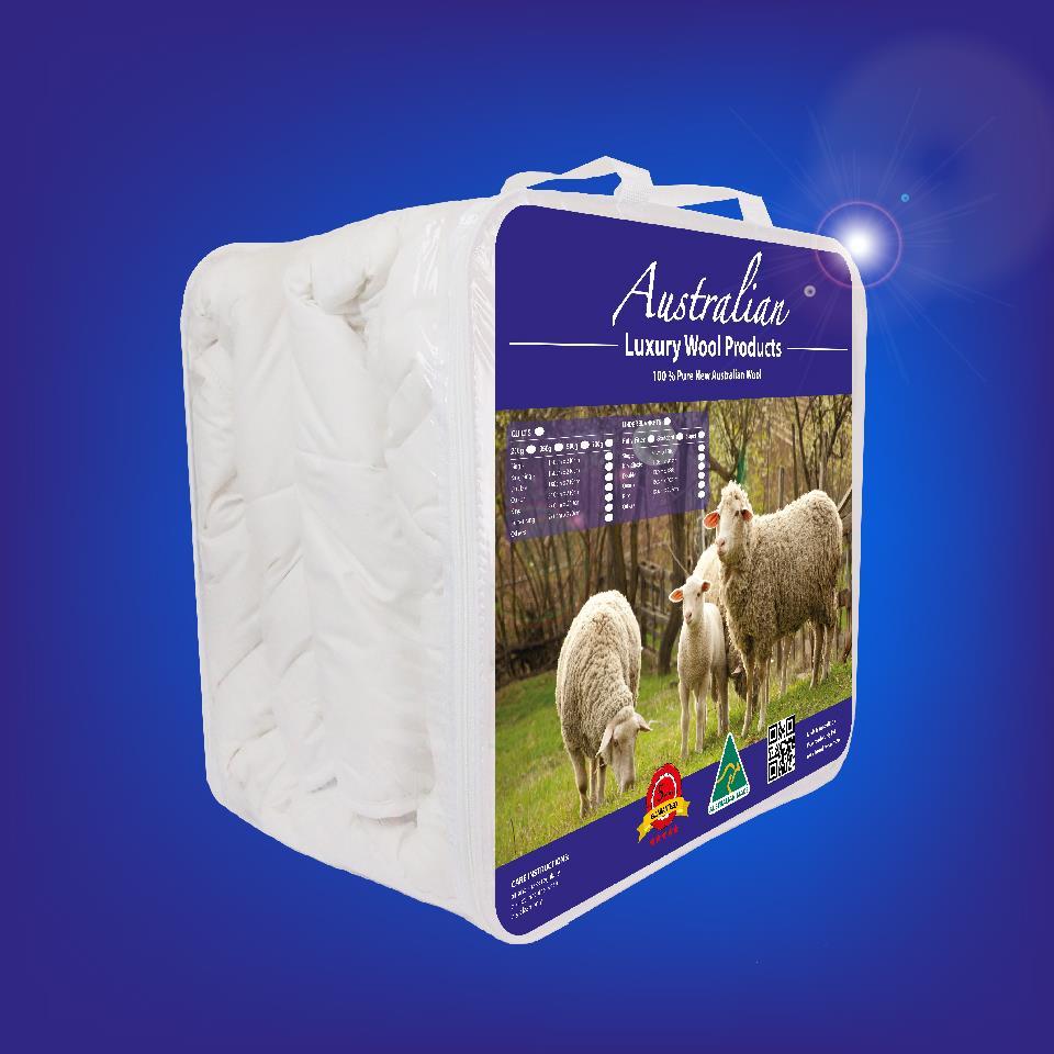 Australian Wool Quilt Winter Summer Duvet 350 500 700gsm