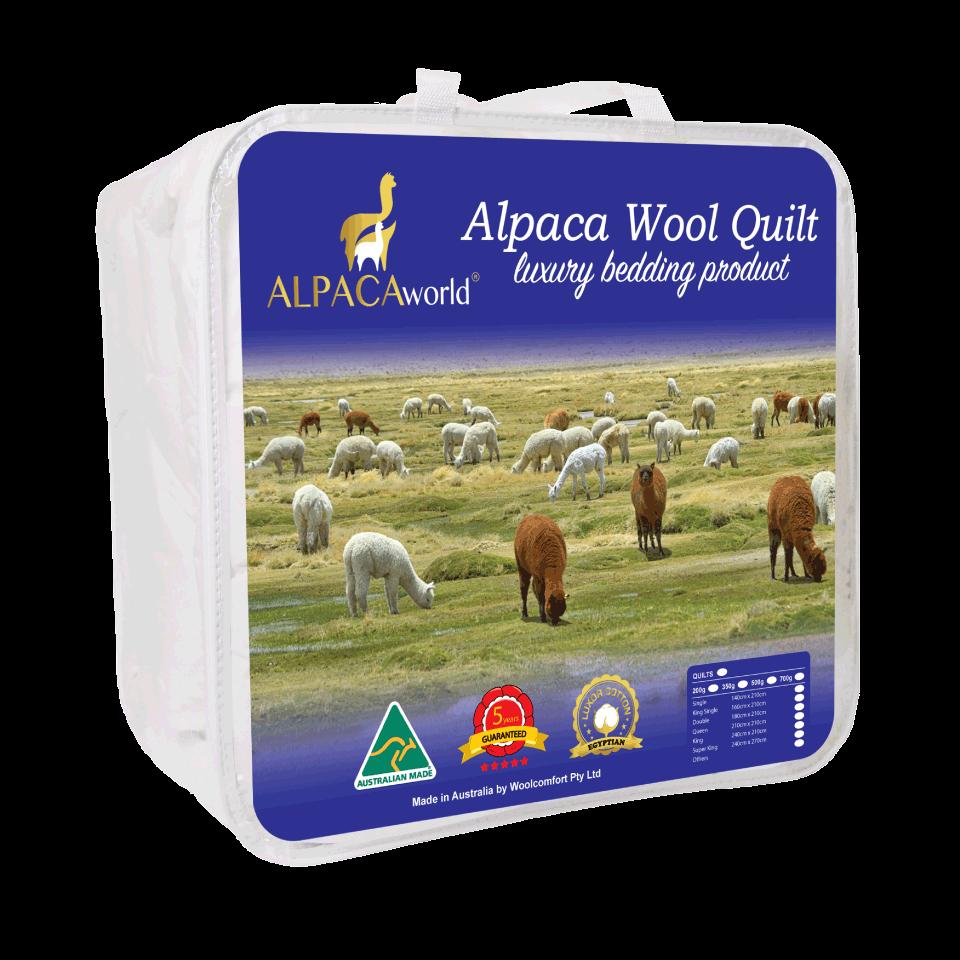 Australian Made Luxury 500gsm Winter Weight Alpaca Fleece