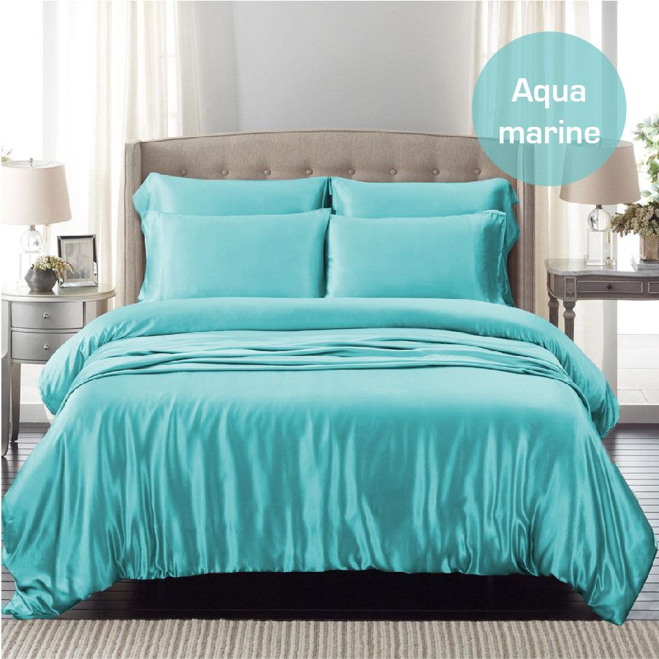 1000tc Silk Satin Single Ks Double Queen King Sk Size Bed