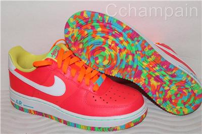 Details about Nike Air Force 1 Fruity Pebbles  GS  AF1 One SOLD OUT    Fruity Pebbles Air Forces