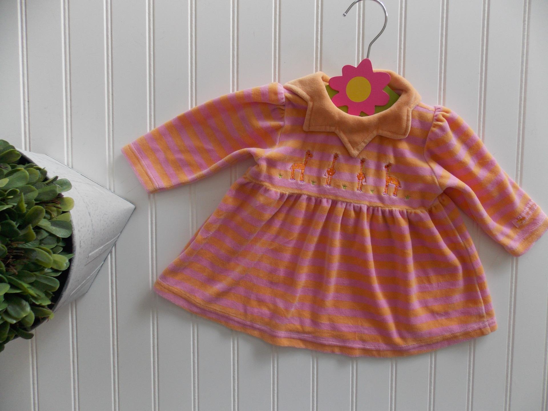 New NWT Carter Girl Pink Stripe Ballerina Bear Pants Top Hat 3 Pc Set 9 month