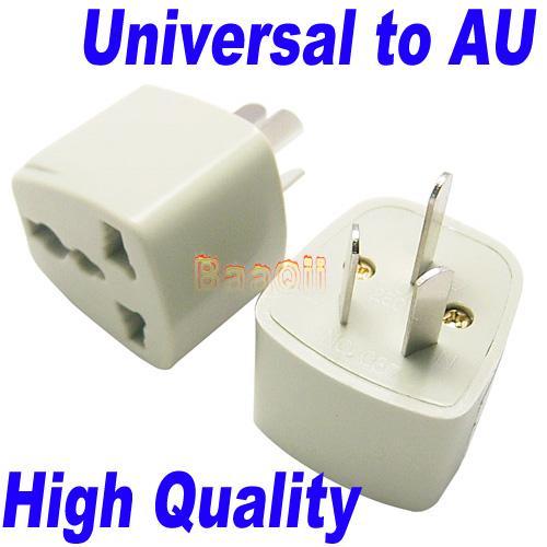 Uk Us Eu To Au Ac Adapter Travel Converter 3pin High Quality