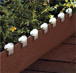 17 Solar Led Clip On String Lights For Fences Porches