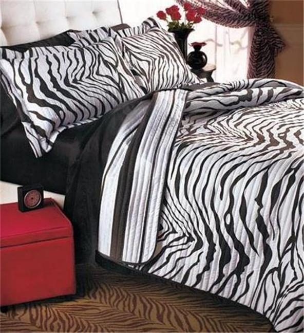 SAFARI ANIMAL PRINT ZEBRA BEDDING REVERSIBLE QUILT SET AND/OR CURTAINS  NICE!!  eBay