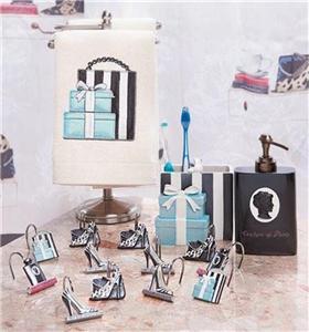 Fashionista Shoe Purse Themed Bath Collection Shower