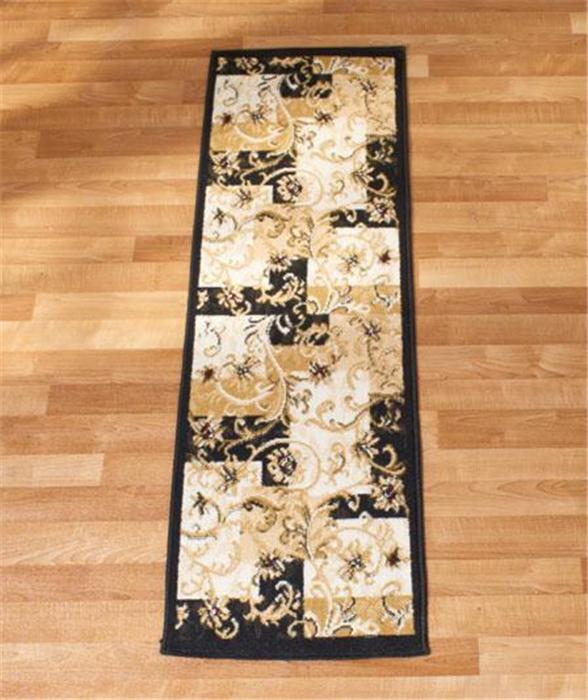 DECORATIVE-FLORAL-NEUTRAL-COLORS-SCROLL-RUNNER-AREA-ACCENT