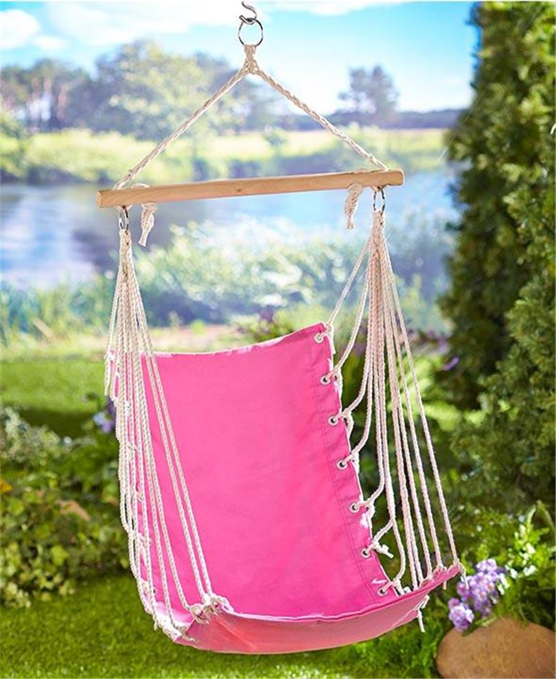 KIDS' YOUTH HAMMOCK SWING CHAIR CARRY BAG PINK OR GREEN ...