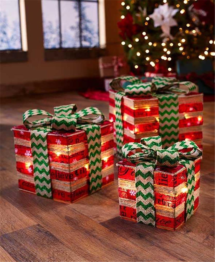 Gift Box Christmas Decorations